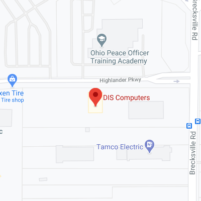 DIS Computers on Google Map